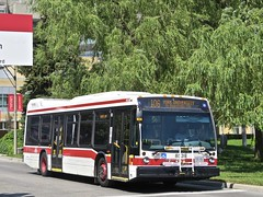 Toronto Transit Commission 8539 (YT | transport photography) Tags: ttc toronto transit commission nova bus lfs