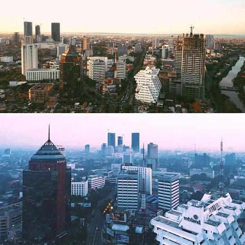 SURABAYA, East Java. Indonesia. @skyscrapercity #surabaya #cityscape #citygram #ciudad #architecture #architecturephotography#cities #citiesskylines #arquitectura #structure #skyline #urbanphotography