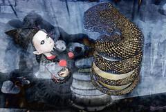 Don't be afraid / Artists: Meilo Minotaur & Cap Cat Ragu (Bamboo Barnes - Artist.Com) Tags: digitalart virtualart secondlife fear politics japan dark shadow blue red black light bamboobarnes freedom surveillance society controle dictator abesinzo surreal nightmare theswamp meilomonotaur capcatragu bergbynordanart