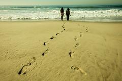 LA, Venice Beach, 2014 (nas_chudo) Tags: la lalaland losangeles venice venicebeach peopel people see ocean footprints usa unitedstates beachholiday relax chill moment sandybeach