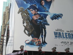 Valerian and the City of a Thousand Planets Billboard Poster 8171 (Brechtbug) Tags: valerian city thousand planets billboard poster times square nyc 2017 french science fiction comics series from 1967 valérian laureline written by pierre christin illustrated jeanclaude mézières film movie directed luc besson new york 06292017