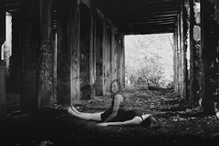 (Emily Boyer Photography) Tags: abandoned creepy ghost landscape blackandwhite art canon conceptual canon6d dead dark explore emilyboyer gothic horror photography