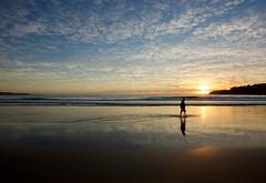 Morning slog (jack eastlake) Tags: walking beach morning walks tathra far south coast nsw bega valley surfing surf sunrise sunrises cloudy clouds