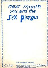 Next month.... (stillunusual) Tags: citychains fanzine musicfanzine punkfanzine punkzine magazine musicmagazine punk punkrock sexpistols 1970s 1977
