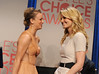 Kaley Cuoco and Jennifer Morrison at People's Choice Awards 2012 Nominees Announcement (briantk1) Tags: jennifermorrison kaleycuoco actress actresses celebrities