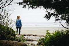 Baywatch (JeffAmantea) Tags: baywatch bay long beach girl wave waves ocean sand trees tree landscape nature natural explore outside outdoor adventure tofino ucluelet bc british columbia canada sony sonyalpha a7ii nikon nikkor 100mm 28 metabones pacific rim national park water coast surf