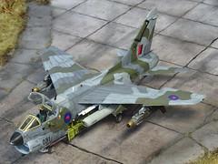"1:72 LTV A-7N ""Corsair II"", aircraft '(NZ7)031' of the Royal New Zealand Air Force (RNZAF) No. 2 Squadron; Ohakea AFB, 1993 (Whif/Hobby Boss kit) (dizzyfugu) Tags: 172 chance vought ltv corsair ii a7 new zealand royal air force rnzaf sluf integral wraparound camouflage kiwi gbu8 flir green grey lowviz hobby boss 2 squadron ohakea fictional aviation modellbau dizzyfugu"