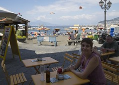 DSC07009_ep (Eric.Parker) Tags: maples napoli italy 2014 europe sorrento campari beer beach naples bagni sanna sand