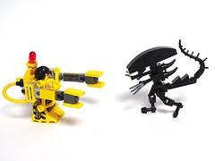 Ripley versus Xenomorph (LuisPG2015) Tags: