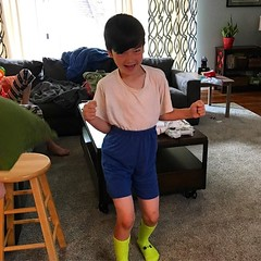 "He calls it ""Grampa Style."""
