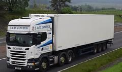 SV16NPU  J&D Cowper, Evanton (highlandreiver) Tags: blackford sv16npu sv16 npu jd cowper evanton truck lorry wagon freight haulage transport a9 perthshire