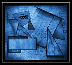 Modernist1 Blue - Copy (The Digital Modernist) Tags: modernism modernist futurist cubist cubism futurism abstract thedigitalmodernist peterleech