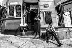 Eagle View (Mario Rasso) Tags: mariorasso nikon d810 valparaiso chile blackandwhite blackwhite woman street hill