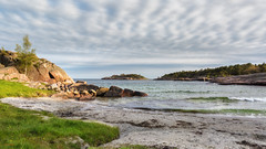 Ranvika, Fevik, Norway (Øyvind Bjerkholt (Thanks for 67 million+ views)) Tags: ranvika fevik norway nature coastline seascape hdr canon vivid sky beach