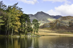 Postcards from Lakeland #1 (Malajusted1) Tags: blea tarn langdale little skelwith bridge reflections mountain thelakes lakeland cumbria nationalpark lake district england shadow trees postcard serene peaceful