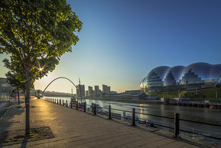 Early morning at the Tyne River
