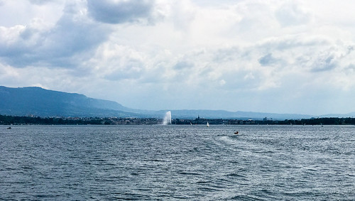 Geneva from Lake Geneva aka lac Léman