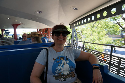 "Walt Disney World: Tracey on the Peoplemover • <a style=""font-size:0.8em;"" href=""http://www.flickr.com/photos/28558260@N04/34365599990/"" target=""_blank"">View on Flickr</a>"
