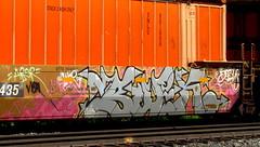 buek (timetomakethepasta) Tags: buek wor bosw freight train graffiti art intermodal photography benching selkirk new york