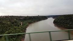 Crossing Iguazu River from Brazil to Argentina (Normann) Tags: argentina iguassufalls iguazu bridge river brazil
