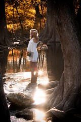 Creek Maternity Photo Session People (c.m.sturgeon) Tags: 500px landscape people water nature travel tree woman adult pregnant wood canon one outdoors maternity creek portraiture no person sunsetting cmsturgeon