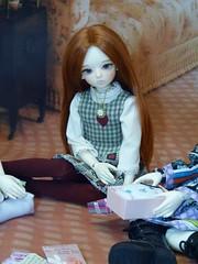 Pebelope Anne (bluepita) Tags: akon dollakon bjd abjd asian ball jointed doll luts kid delf kdf mdf 14 mini wintery 13 winter event 2013 normal skin