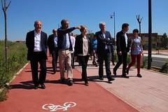 Obres Públiques inverteix 531.260 euros en la construcció d'un pont a Alginet (GVA Habitatge) Tags: obres públiques alginet barranc del senyor