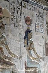 Goddess Nut (konde) Tags: nut goddess ancientegypt templeofhathor luxor thebes ptolemaicperiod hieroglyphs ankh deirelmedina