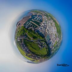 Whitehaven Marble (Dave Wilson Cumbria) Tags: aerial dji drone footage phantom phantom4pro phantom4professional pro whitehaven england unitedkingdom gb wee planet little marble blue harbour