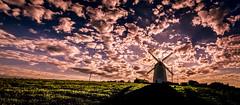 Cloud Generator   [Explored] (RonnieLMills) Tags: sunrise dawn shadow silhouette windmill fluffy clouds ballycopeland mill millisle explore explored 190617 384