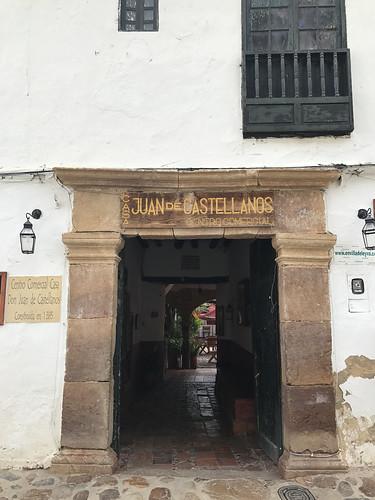Casa Juan de Castellanos, Villa de Leyva, Colômbia.