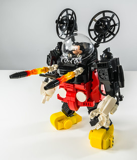Mecha Mouse Missiles
