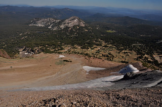 Downward Glaciers