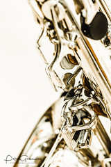 Brass Wind Instrument Close Up - Saxophone (Peter Greenway) Tags: keys trumpet frenchhorn musicalinstruments flickr brass horn bellend windinstrument brassinstrument woodwind petergreenway bcb instrument