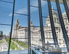 Three Graces from the Museum (Bob Edwards Photography - Picture Liverpool) Tags: threegraces royalliver cunar portofliverpool merseyside