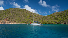 Paradisio (Fret Spider) Tags: bvi britishvirginislands vacation relax rejuvenation sea beach sun weather island tropic sky clouds charter boat ship vessel mirrorless sonya7rii wideangle ultrawideangle canonef24mmf14liiusm