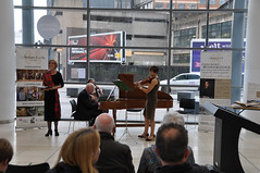Avison Ensemble at The Late Shows, Newcastle City Library, Saturday 20 May 2017 (Avison Ensemble) Tags: charles avison ensemble avisonensemble newcastle newcastleupontyne north east england city library building english continuo period instruments instrument baroque violin viola violoncello cello harpsichord keys keyboard tuning string strings classical music musician musicians performance playing play players orchestra orchestral band soloist cellist violinist composer composers performing perform performers rehearsal rehearsing audience listening listeners outreach inclusion inclusive learning learn explore exploring education educational heritage lottery fund history manuscript dancers dancing costume costumes minuet soprano singing songs