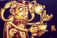 Street Art by Sepr (Westcountry_Wildflower) Tags: graffiti streetart sepr cardiff