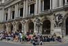 Sitting on the Stoop (Eddie C3) Tags: parisfrance vacationphotos opéranationaldeparis architecture palaisgarnier