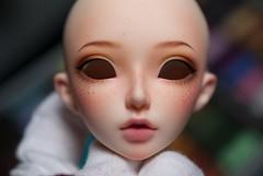 celine_00 (Mis◈Evergreen) Tags: minifee celine custom makeup faceup redhead freckles bjd abjd doll pearlsofdanube minifeeceline fairyland dollfairyland