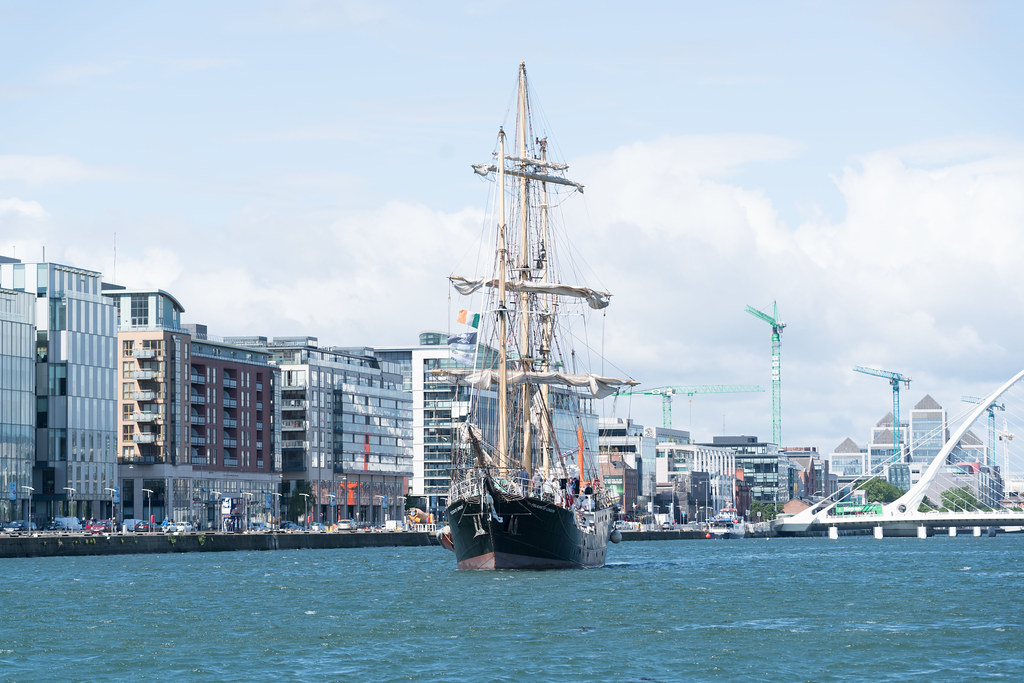 PELICAN OF LONDON [TALL SHIPS LEAVING DUBLIN PORT TUESDAY JUNE 6 2017]-129382