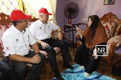 Menziarahi Puan Hajjah Zaleha Bt.Long,Mantan Ketua Wanita BHG Dungun.Kg Molek,Dungun.16/4/17