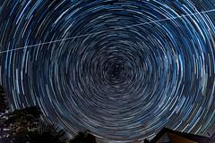 A Perfect Chord (nicklucas2) Tags: astrophotography internationalspacestation iss zarya startrail stars night ashleyheath england unitedkingdom gb
