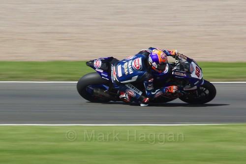 Michael van der Mark in World Superbikes at Donington Park, May 2017