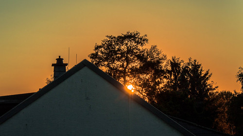 Sonnenuntergang Wixhausen
