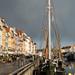 Ship in Port of Copenhagen