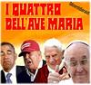 DUE PIU' DUE (edoardo.baraldi) Tags: ildoppio prendi2paghi1 occasione italia papi presidentiusa obama trump ratzinger bergoglio