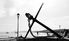 Anchor (macplatti) Tags: monochrome nautic anchor anker schifffahrt hafen corse korsika insel island ship water mediterranian mittelmeer wasser meer sailing sailingship ilerousse france fra