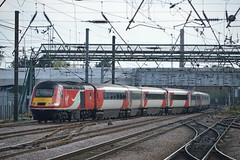 43318, Doncaster (JH Stokes) Tags: hst highspeedtrain trains t trainspotting tracks transport railways locomotives class43 photography doncaster eastcoastmainline 43318 diesellocomotives powercar ferroequinology