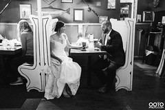 Adk Brew Bride and Groom (Out of the Ordinary Photography) Tags: wedding brewery beer brew pub drink bride groom event natural light canon soft black white bw lake george fort william henry adirondacks adk adirondack rustic americade 2017